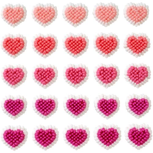 Mini Hearts Dot Matrix Icing Decorations 81 Ct Wilton Valentines Day