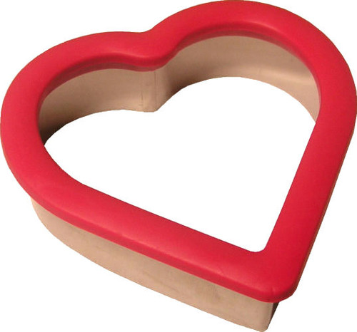 Red Heart Comfort Grip Cookie Cutter Plastic Wilton