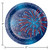 Patriotic Fireworks 7 inch Dessert Plates 8 ct 4th July
