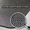 Sure Grip Open Cell Rubber Backing for Superior Grip