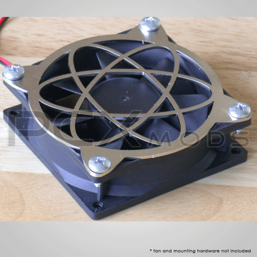 Atomic design stainless steel laser cut computer PC case fan grill quantities are limited