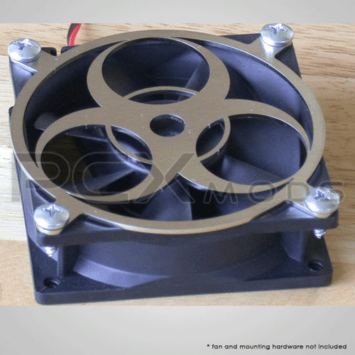 Bio Hazard Laser Cut Fan Grill 92mm quantities are limited