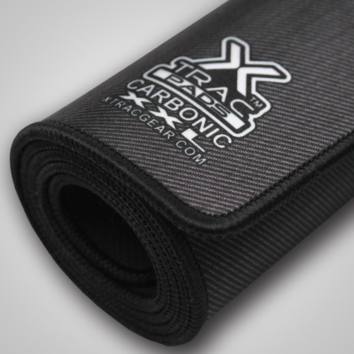 Carbonic XXL Desk Mat rolls nicely should you wish to transport it.