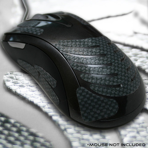 Mouse Grips Ergonomic Mouse Grip Enhancer fits any computer mouse.