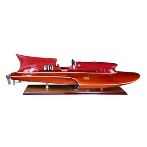 Model Thunder Boat Racing Boat