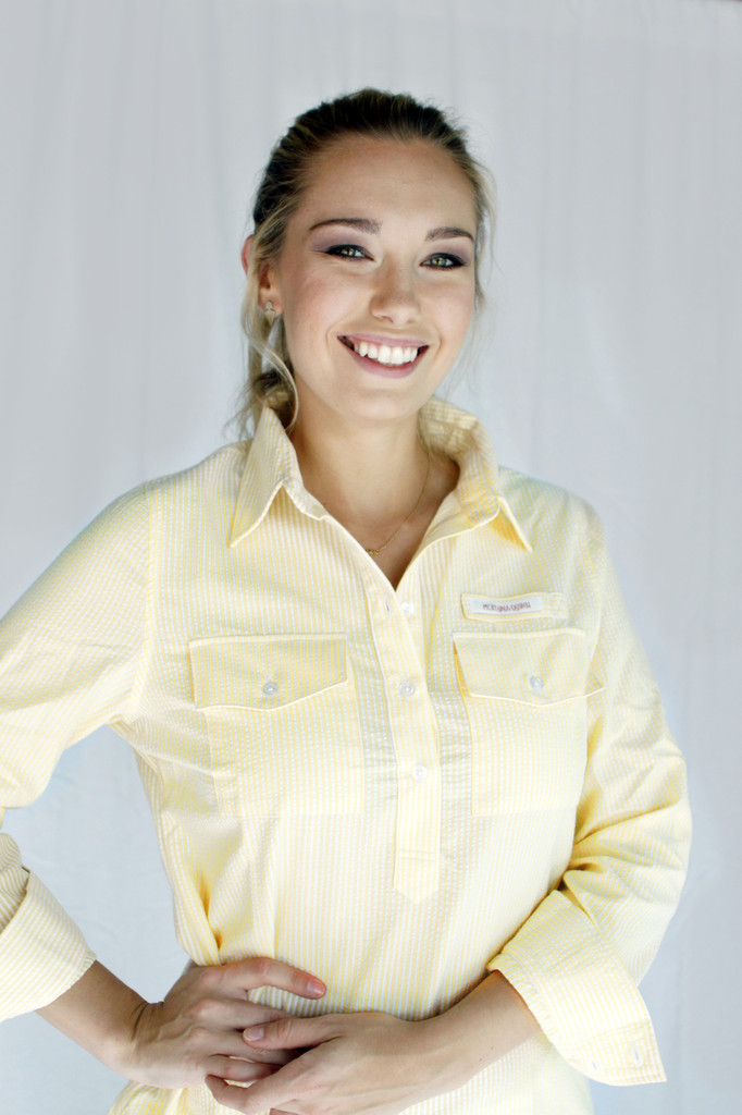 Adelaide Fishing Shirt in Yellow