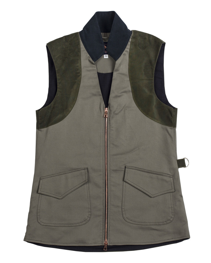 McKenna Quinn Shooting Vest in Green
