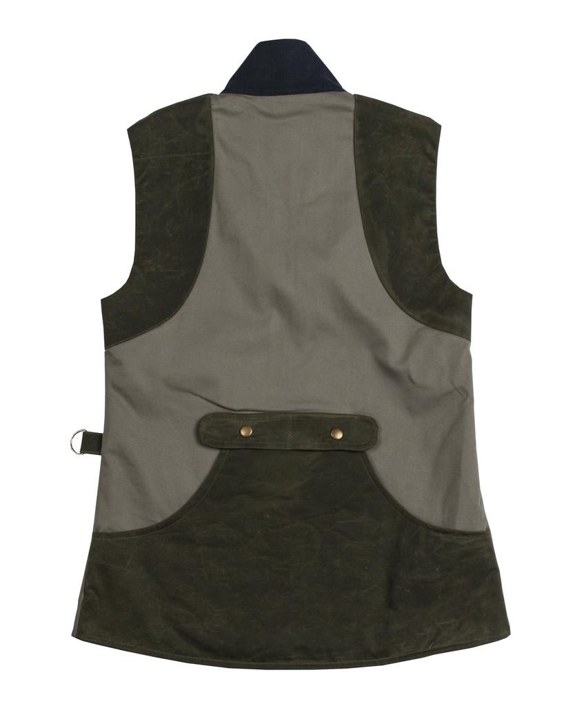 McKenna Quinn Shooting Vest in Green