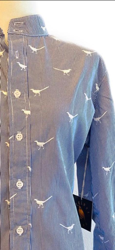 Long Sleeve Pheasant Button Down Shirt
