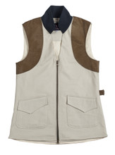 McKenna Quinn Shooting Vest in Khaki
