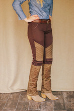 McKenna Quinn Upland Pants in Brown