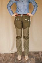 McKenna Quinn Upland Pants in Dark Green
