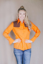 Piper Lightweight Orange Long Sleeve Hunting Shirt