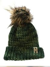 Merino Wool Green Beenie