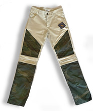 Upland Pants in Khaki with Camo Wax