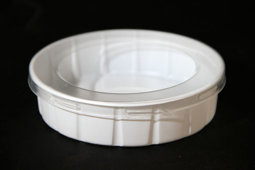 """No Escapee"" Worm/Dubia Feeder Dish small"