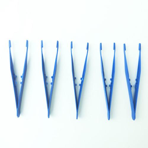 Plastic Tweezers 11cm. 5 pack