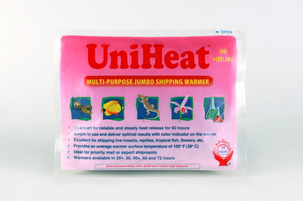 Unactivated 60 Hour UniHeat Heat Pack for Shipping