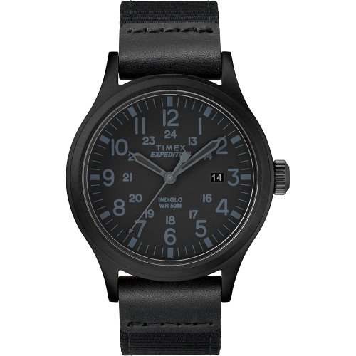 Timex Expedition Scout 40mm - Black - Fabric Strap Watch (TW4B14200)
