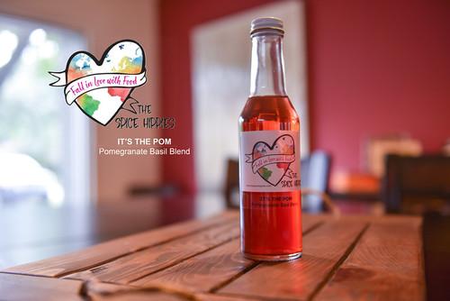 It's The Pom - Pomegranate Basil Vinegar, 8oz