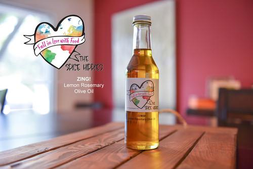 ZING!! - Lemon Rosemary Olive Oil, 8oz