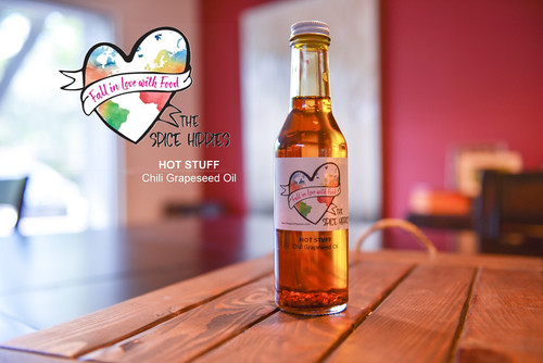 Hot Stuff - Chili Grapeseed Oil, 8oz