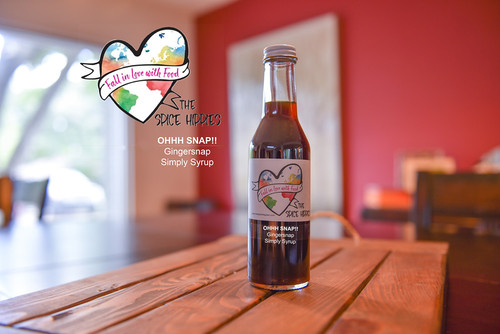 Ohhh Snap! - Gingersnap Simple Syrup, 8oz