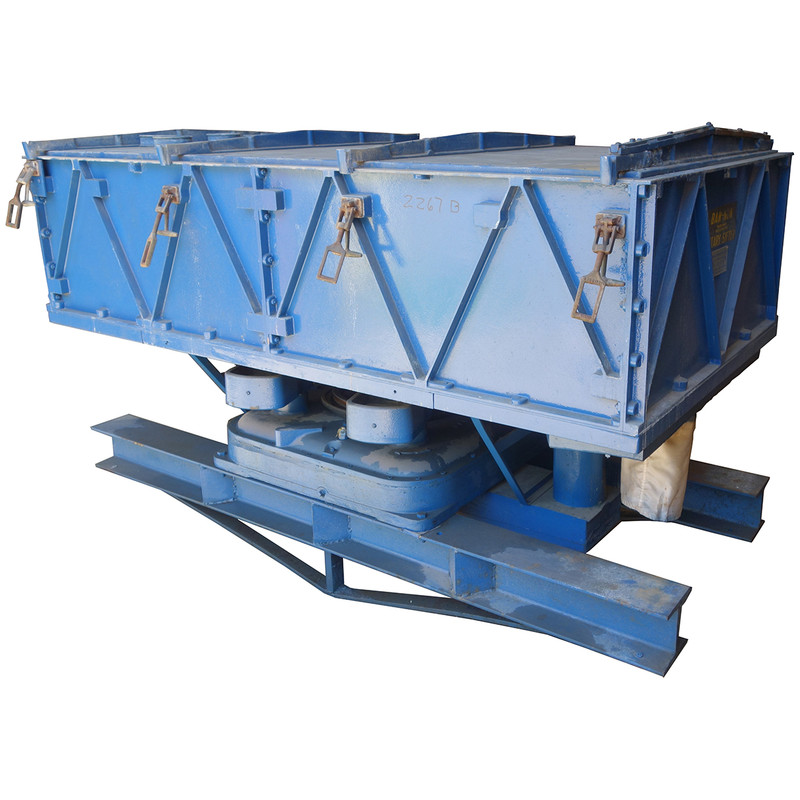 Used Gump Bar-Nun Rotary Sifter Double Deck Screener, 2167B