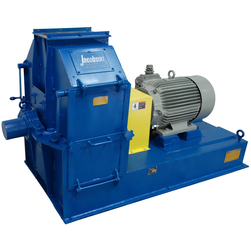Serviced Jacobson Hammermill with 50HP Motor, 1009