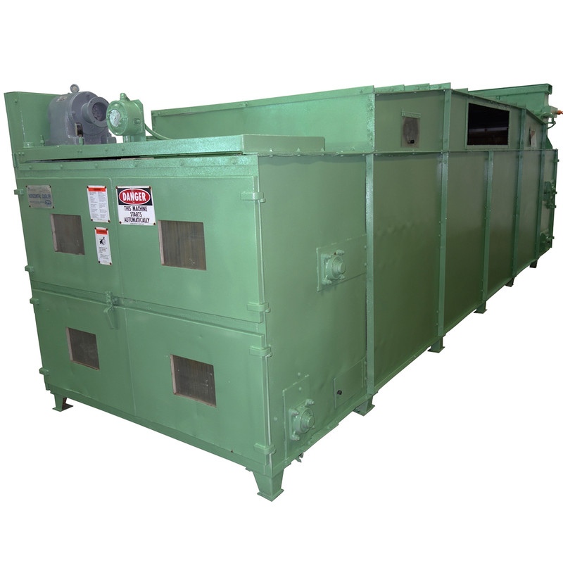 Used CPM Horizontal Double Pass Cooler, 2125H