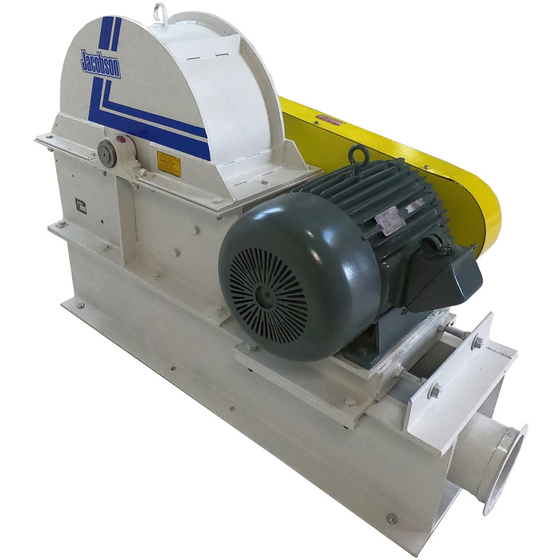 Serviced Jacobson Hammermill with 50HP Motor, 2551