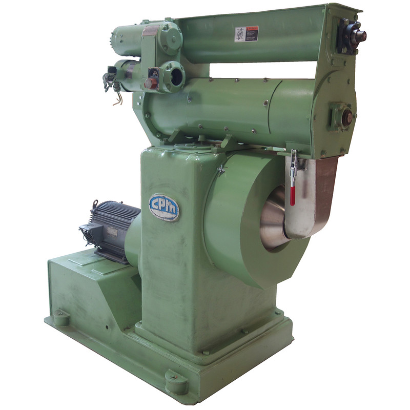 Used CPM Master Pellet Mill with Feeder Conditioner, 2606