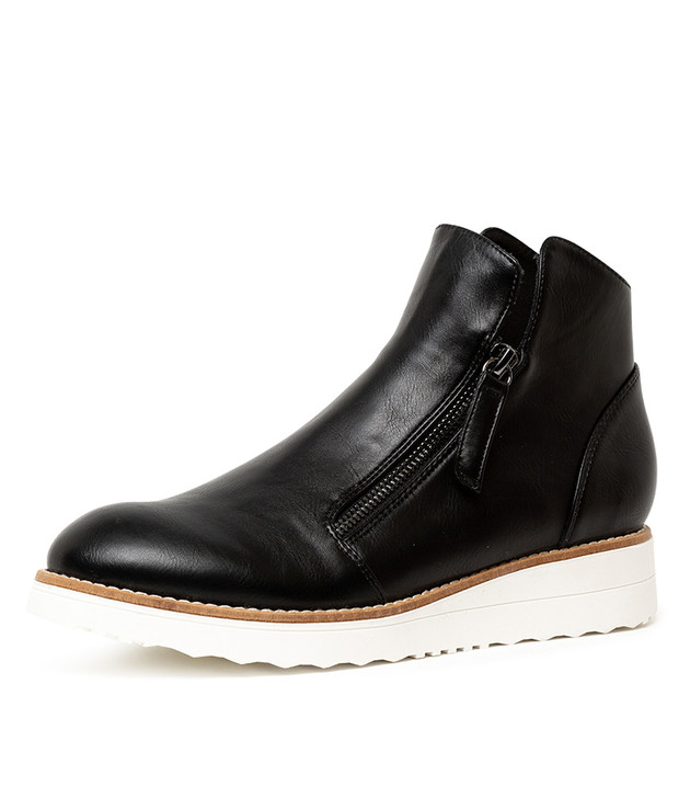ORIE BLACK SMOOTH BOOTS