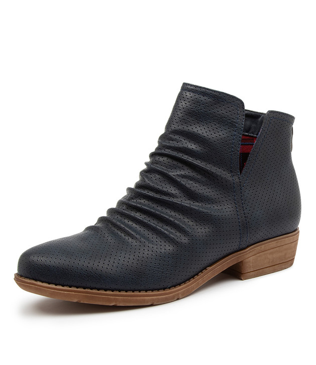 RIDLEY INK ANKLE BOOTS