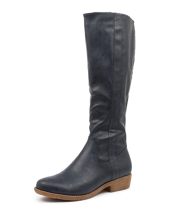 RONIN INK KNEE HIGH BOOTS