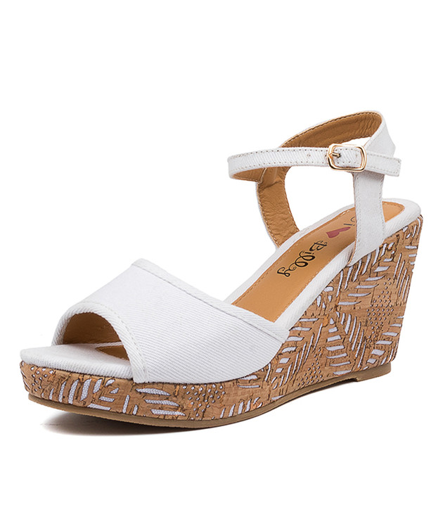 PHIN WHITE WEDGES