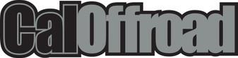 CalOffroad window and bumper sticker / decal 350mm x 83mm