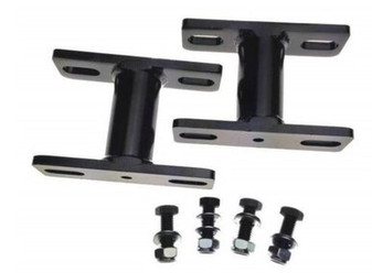 Sway Bar Extension Brackets, PAIR, 2 to 4 INCH Front. Fits Toyota Landcruiser 70, 80, 100 and 105 Series