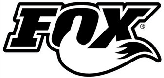 Fox Shox black and white sticker
