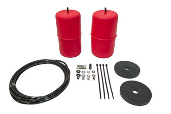 Airbag, Red, 2 INCH RAISED (NARROW COIL VERSION). Fits Jeep Wrangler JK 2007 - 2018