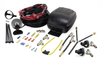 Polyair, WIRED COMPRESSOR KIT (LOAD CONTROLLER DUAL PATH). Fits All Polyair Airbags for all car models