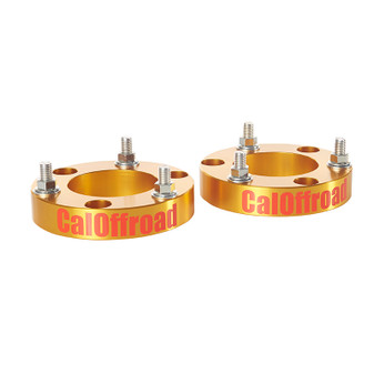 Front Strut Spacer Levelling Kit, 25mm Spacer, 50mm - 55mm Lift. Fits Toyota Hilux N70 2005 - 2015, view from side.
