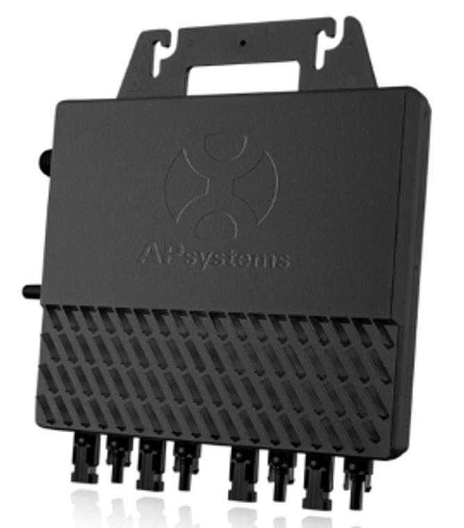 APsystems QS1 Microinverter single ph, 110V AC-60Hz, 1200W, 300W per Channel - 4 Modules