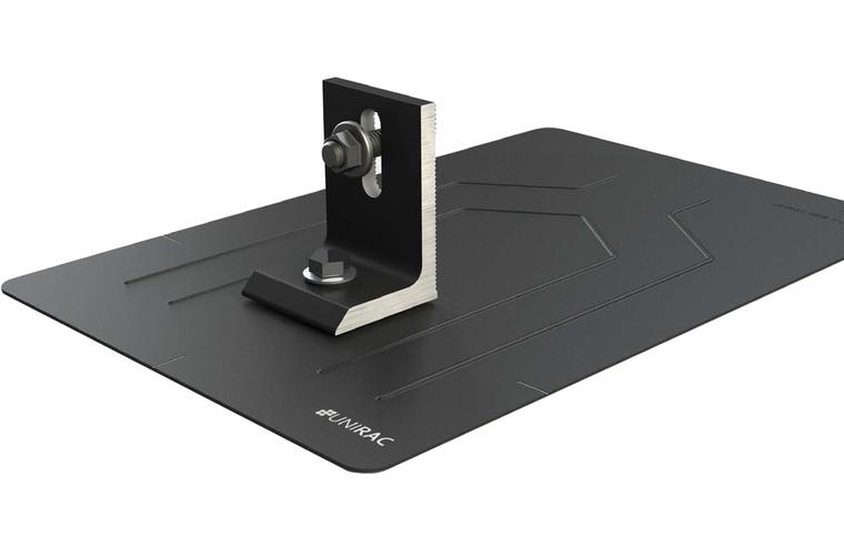 Unirac 004055D Flashkit Pro - Flashing - L Feet - Lags - Hardware - Dark