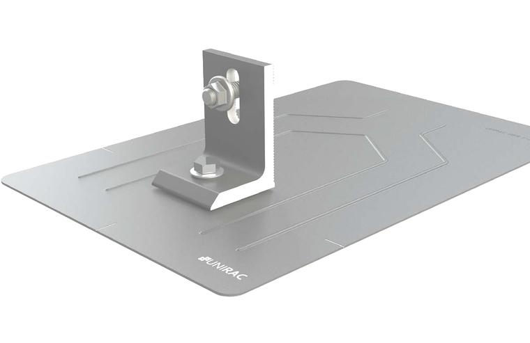 Unirac 004055M Flashkit Pro - Flashing - L Feet - Lags - Hardware - Clear