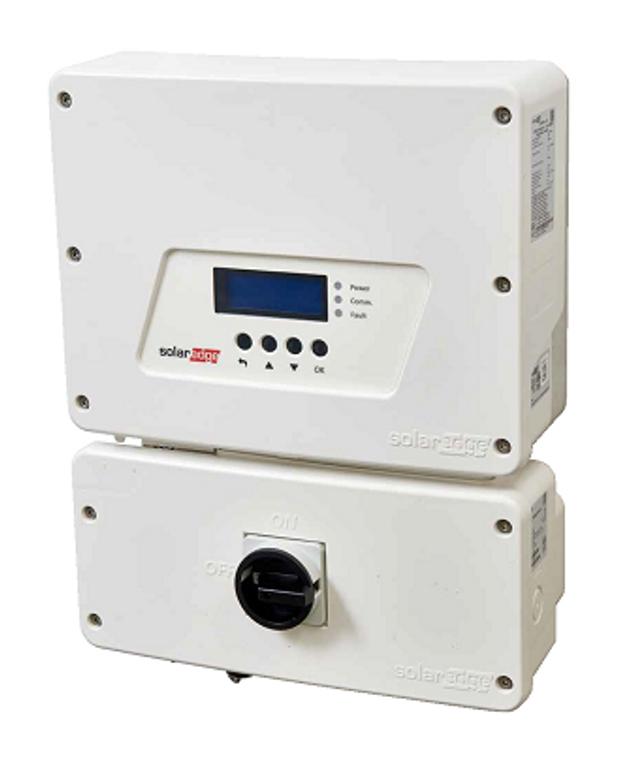 SolarEdge HD Wave SE3800H-US 3.8KW Grid Tied Inverter