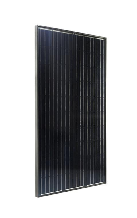 Peimar SG300M-FB 300W Mono Black Frame Black Back 40MM
