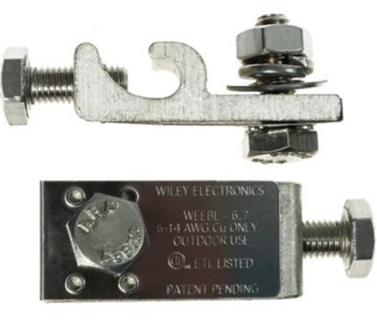 Wiley Electronics WEEB 6.7 Grounding Lug