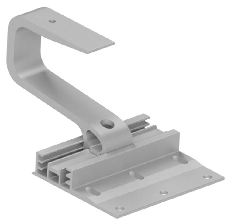 Everest Tile Hook 3S Wide Base w/ Hardware