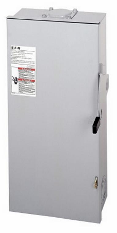 Eaton DG223NRB - 100Amp 240V AC FUSED Disconnect